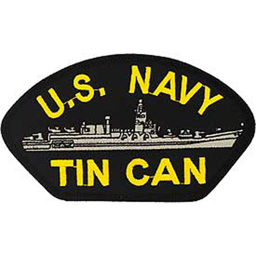 Patch-Usn Hat Tin Can