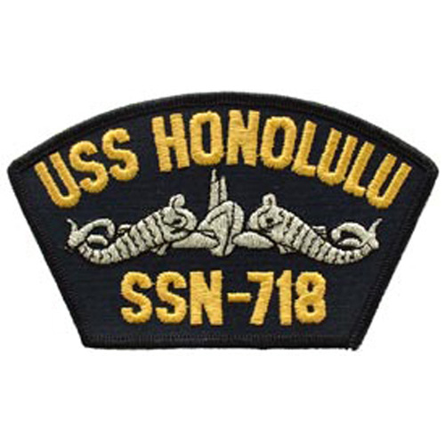 Patch-Usn Uss Honolulu