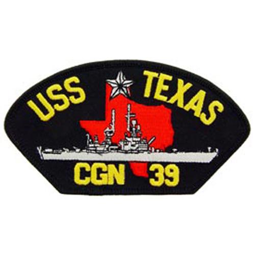 Patch-Usn Uss Texas