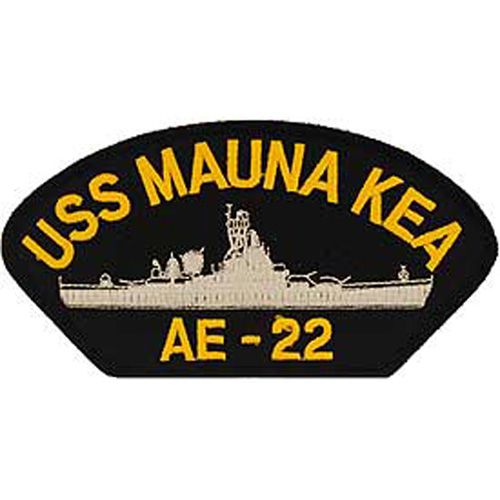 Patch-Usn Uss Mauna Kea