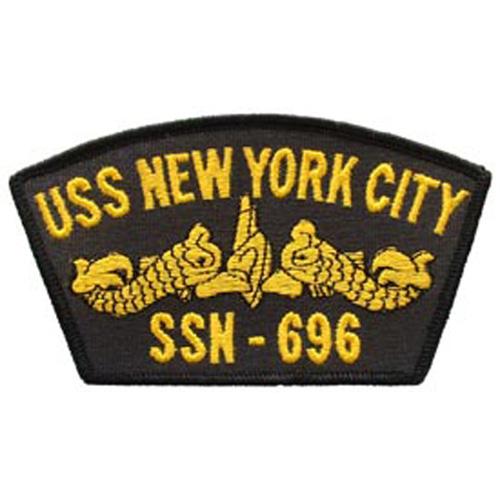 Patch-Usn Uss New York