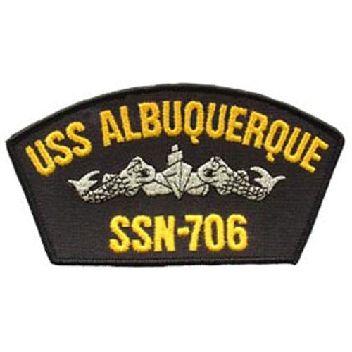 Patch-Usn Uss Albuquerque