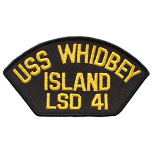 Patch-Usn Uss Whidbey Isl