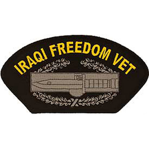 Patch-Iraqi Freed.Hat Cab