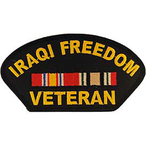 Patch-Iraqi Freed.Hat
