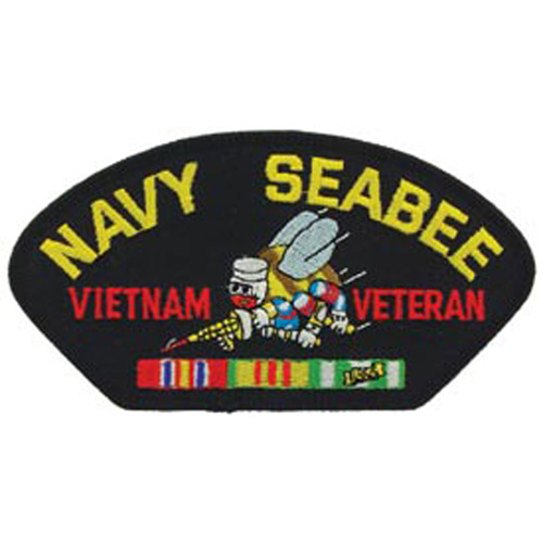 Patch-Viet Hat Usn Seabee