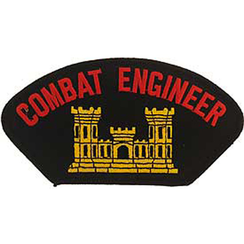 Patch-Army Hat Combat Eng