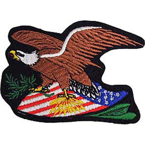 Patch-Usa Eagle/Sheild