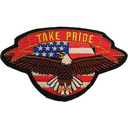 Patch-Usa Eagle/Pride