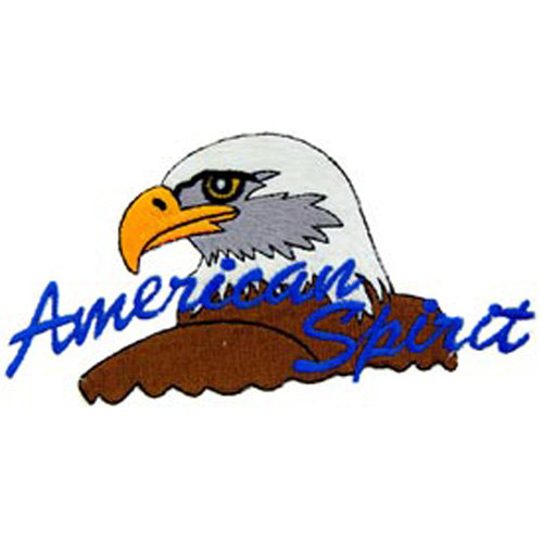 Patch-Usa Eagle/American