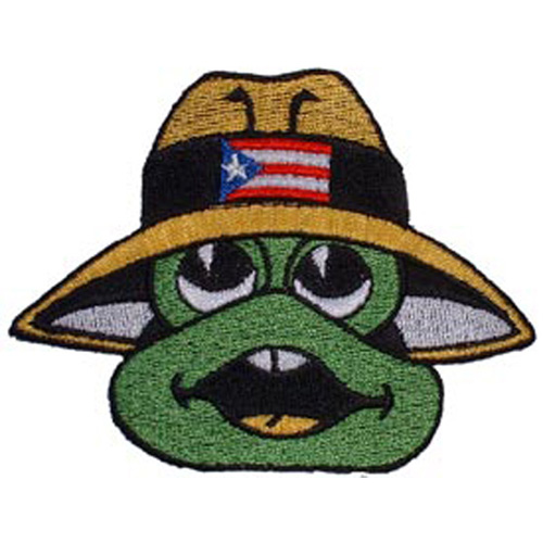 Patch-Frog W/Hat