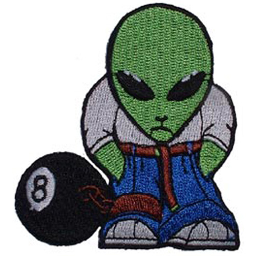 Patch-Alien 8 Ball