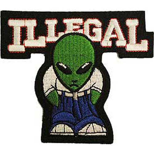 Patch-Alien Illegal