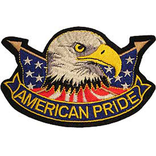 Patch-Usa Eagle Am.Pride