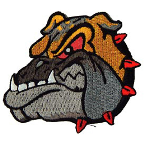 Patch-Dog Bulldog