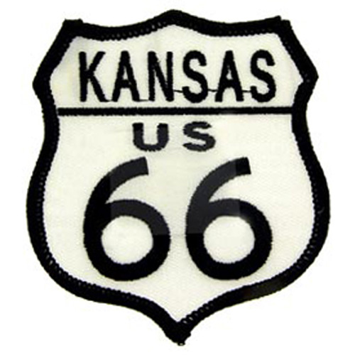 Patch-Route 66 Ks