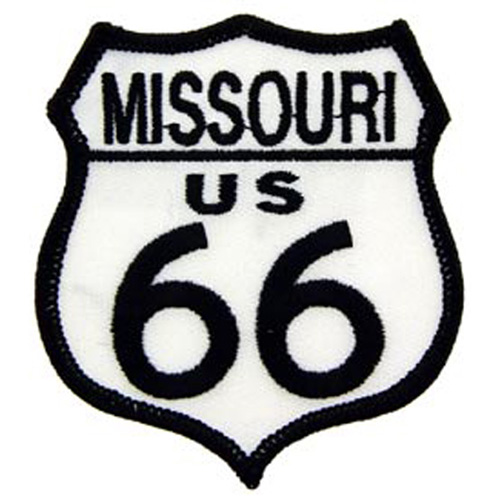Patch-Route 66 Mo