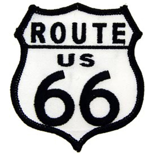 Patch-Route 66 W/Us