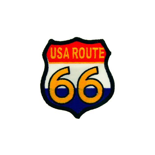 Patch-Route 66 Usa-Rw And B