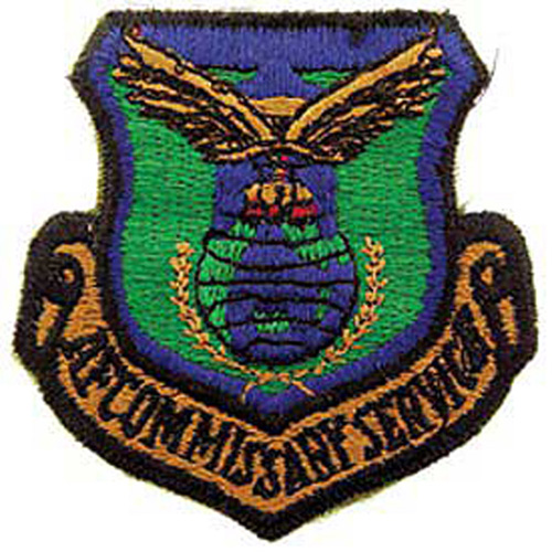 Patch-Usaf Commissary Svc