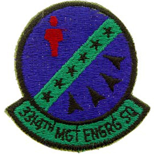 Patch-Usaf 3314th Mgt Eng