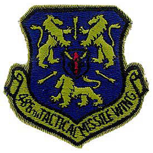 Patch-Usaf 486th Tac.Miss