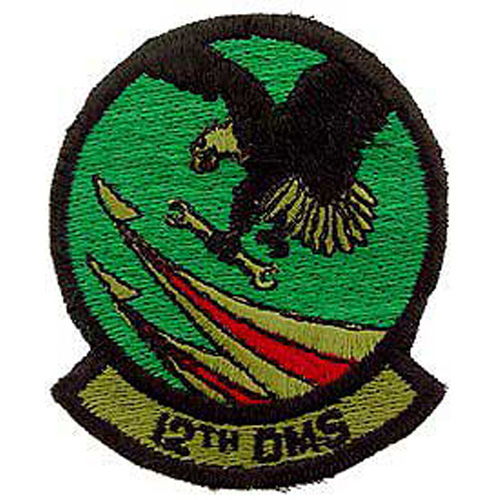 Patch-Usaf 012th Dms
