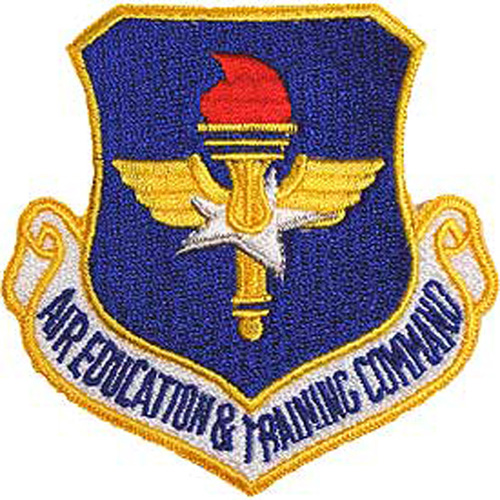 Patch-Usaf Educ. And Train.Cm