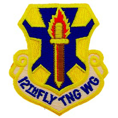 Patch-Usaf 012th Fly Tng