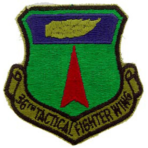 Patch-Usaf 036th Tact.Fgt