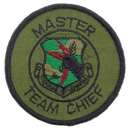 Patch-Usaf Sac Mast.Team