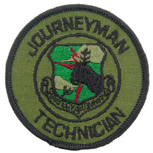 Patch-Usaf Sac Journeyman