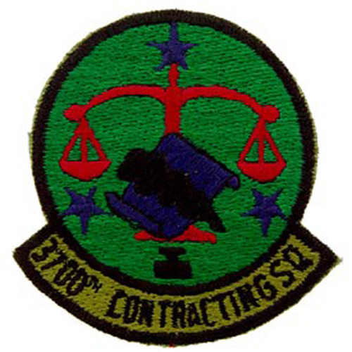 Patch-Usaf 3700th Cont.Sq