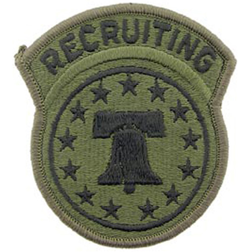 Patch-Army Recruiting
