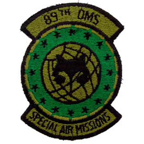 Patch-Usaf 089th Spec.Air