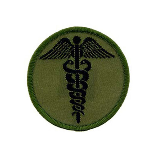 Patch Medic Caduceus Subdued