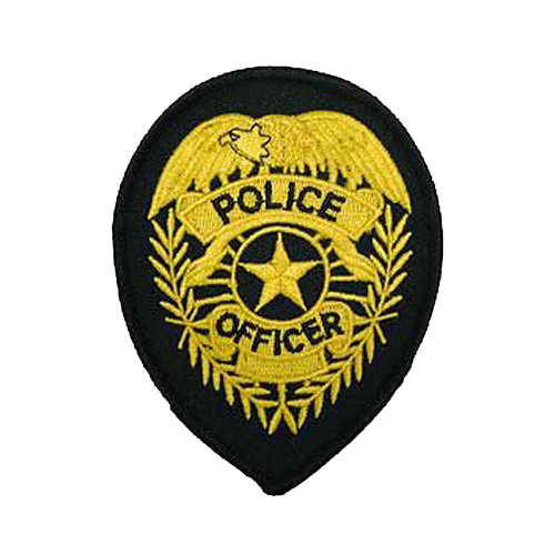 Patch-Police Shield