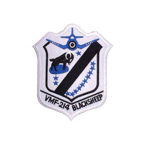 Patch USMC VMF 214 Black Sheep