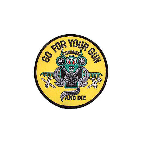 Patch-Usaf Go For Your Gu