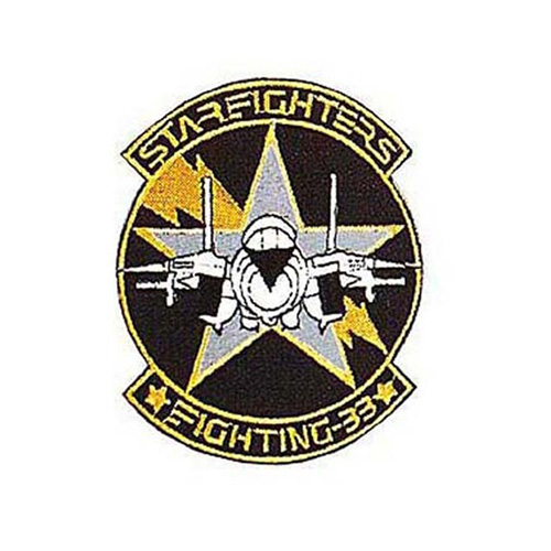 Usn Starfighters 3 Inch Patch