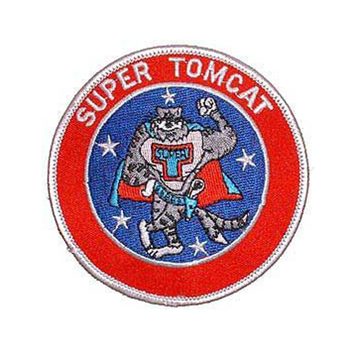 Usn Tomcat Super 3 Inch Patch