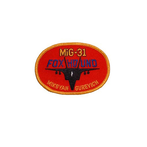 Patch Russian Mig Foxhnd