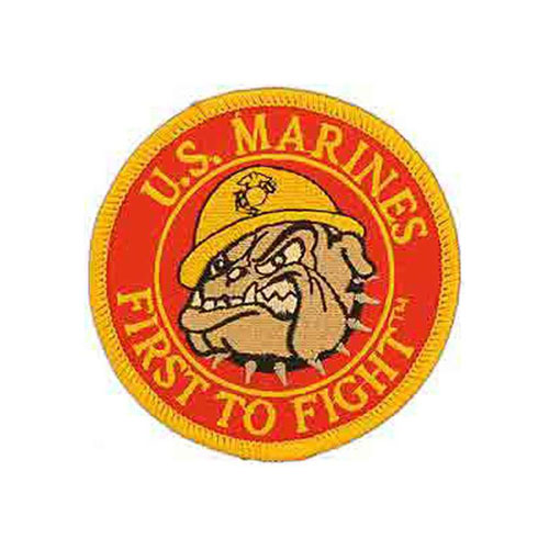 Patch-Usmc Bulldog Logo