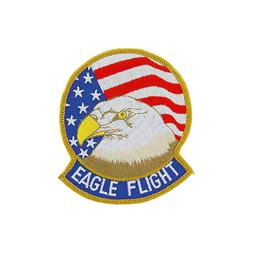 3 3/8 Inch USAF Eagle Flight Patch
