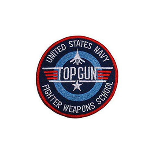 Patch 3 Inch Usn Top Gun Weap.Sc