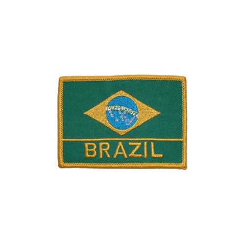 Patch-Brazil Rectangle
