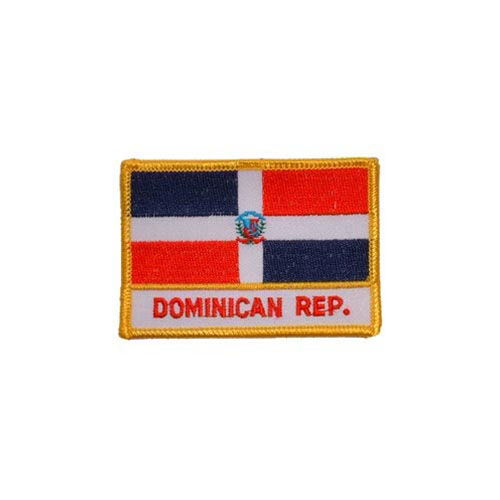 Patch-Dominican Repub Rectangle