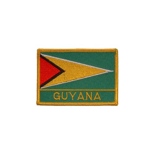 Patch-Guyana Rectangle
