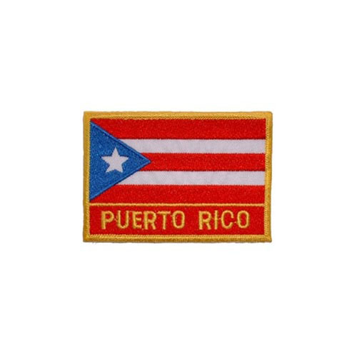 Patch-Puerto Rico Rectangle