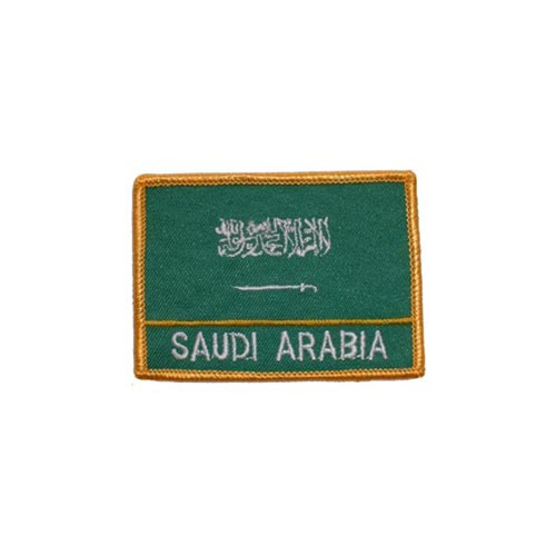 Patch-Saudi Arabia Rectangle